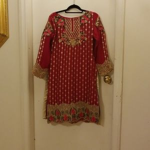 3 piece fancy pakistani/ indian suit
